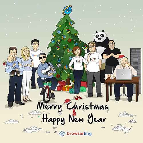 Browserful Christmas and New Year - Web Joke Tech Jokes