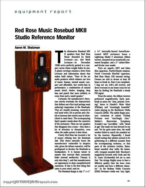 Review 1 Rosebud Mk2 (Red Rose Music)