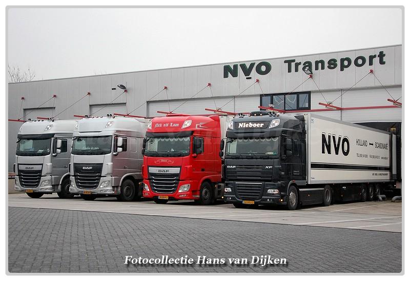 Line-up NVO charters DAF-BorderMaker -