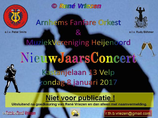 R.Th.B.Vriezen 08-01-2017 0000 Arnhems Fanfare Orkest & Muziekvereniging Heijenoord NieuwJaarsConcert K13 Velp zondag 8 januari 2017