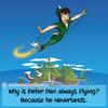Peter Pan  - Web Joke - Tech Jokes