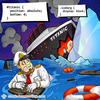 Titanic and Iceberg - Web Joke - Tech Jokes