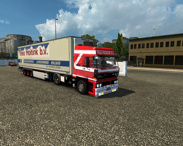 ets2 Daf 3600 Ati 4x2 + Chereau cooler Theo Hoitin prive skin ets2