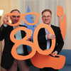 c6d 16910 - Nieuwjaars tevens 80 jarig ...