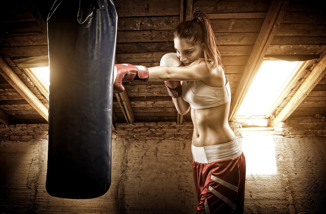 boxing-2560x1680-woman-attic-workout-3585 Picture Box