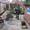 Tuin - Uitvlakken en Horten... - Gazon en de voorbereidingen...
