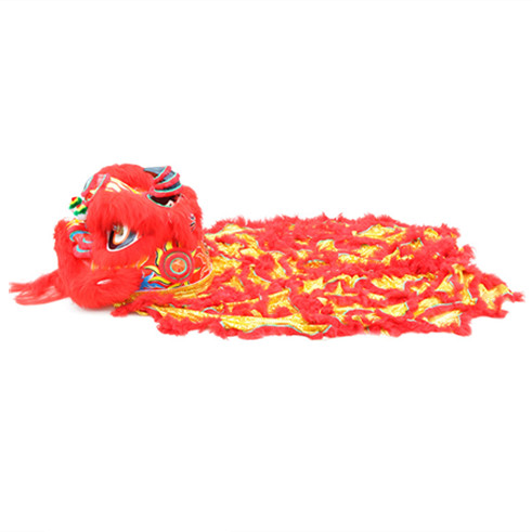 southern-lion-dance-costume-red-gold-01 Lion Dance Costume
