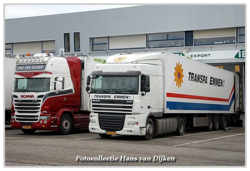Line-up Eric van Dijken& Transpa Emmen-BorderMaker -
