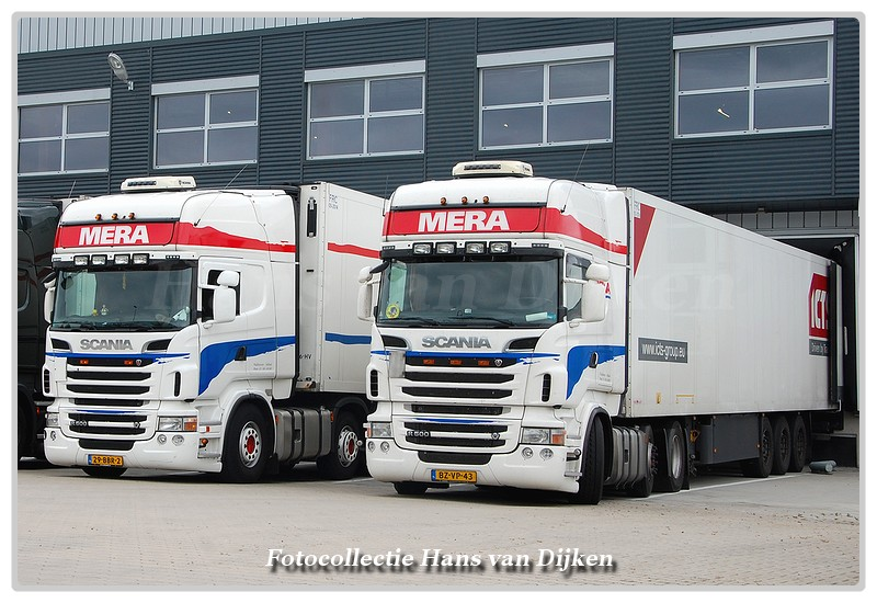 Line-up Mera Trans 29-BBR-2 & BZ-VP-43-BorderMaker -