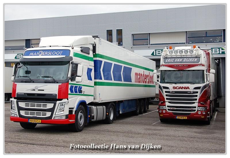 Line-up Mandersloot&Eric van Dijken-BorderMaker -