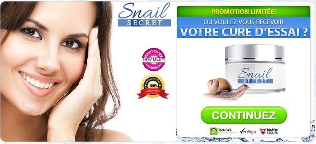 bottom-page Quels sont les composants essentiels d'Snail Secret Crème?