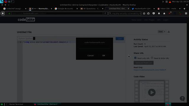 """><img src=x onerror=prompt(document.domain);> Picture Box"