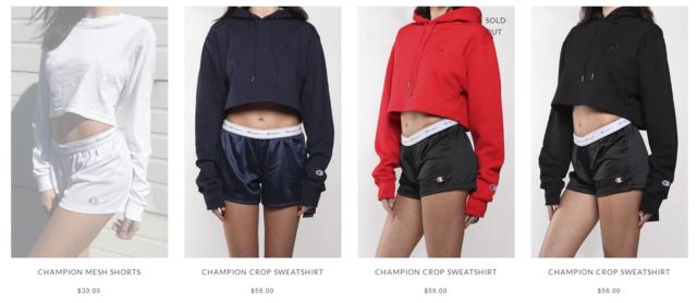 Buy online vintage sportswear in Canada Picture Box