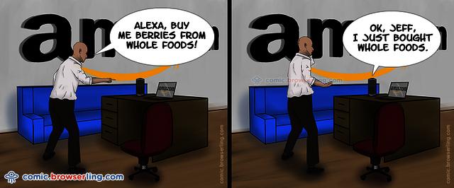 Bezos Buys Whole Foods