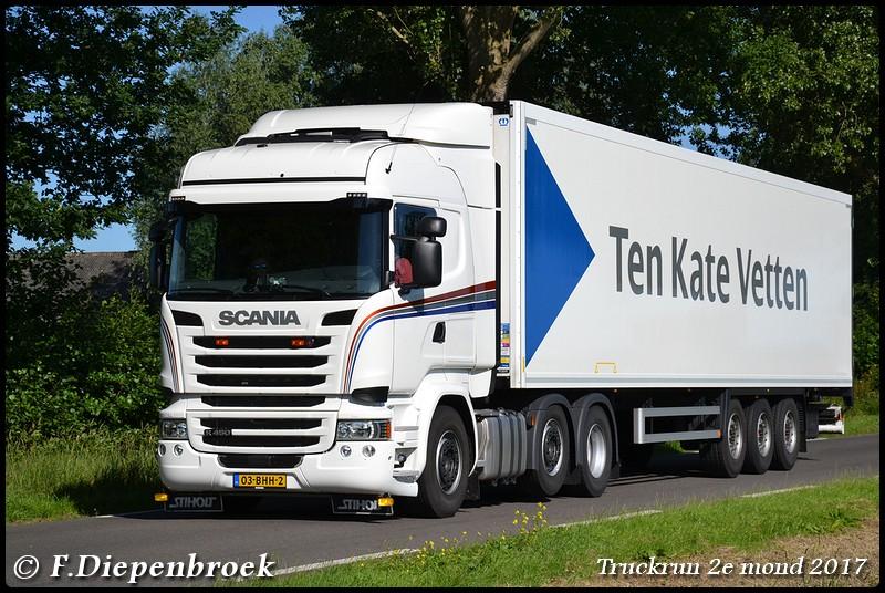 03-BHH-2 Scania R450 Ten Kate-BorderMaker - Truckrun 2e mond 2017