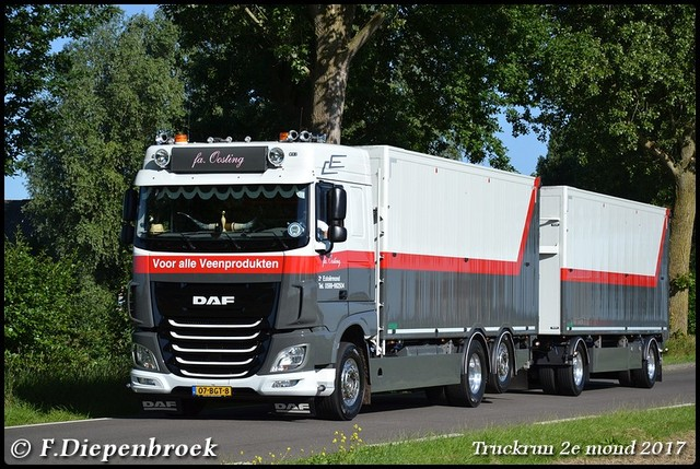 07-BGT-8 DAF 106 Oosting3-BorderMaker Truckrun 2e mond 2017