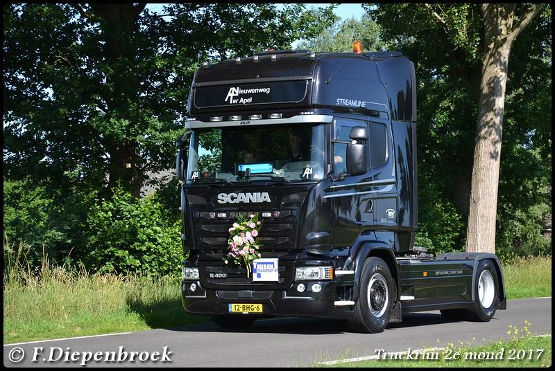 12-BHG-6 Scania R450 Nieuwenweg-BorderMaker - Truckrun 2e mond 2017