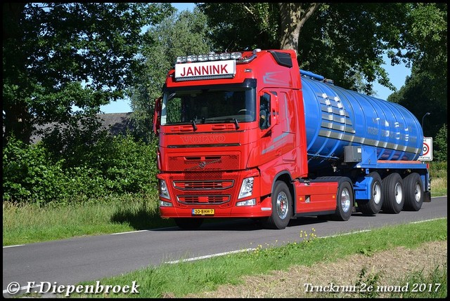 20-BHH-Volvo FH4 Jannink-BorderMaker Truckrun 2e mond 2017