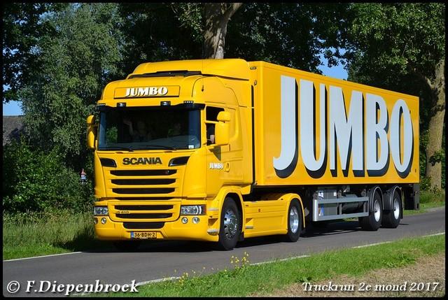 36-BDH-2 Scania R410 Jumbo-BorderMaker Truckrun 2e mond 2017
