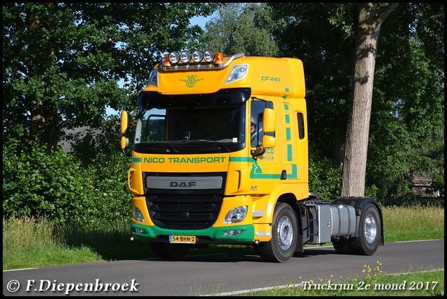 54-BHN-2 DAF CF Nico Transport-BorderMaker Truckrun 2e mond 2017