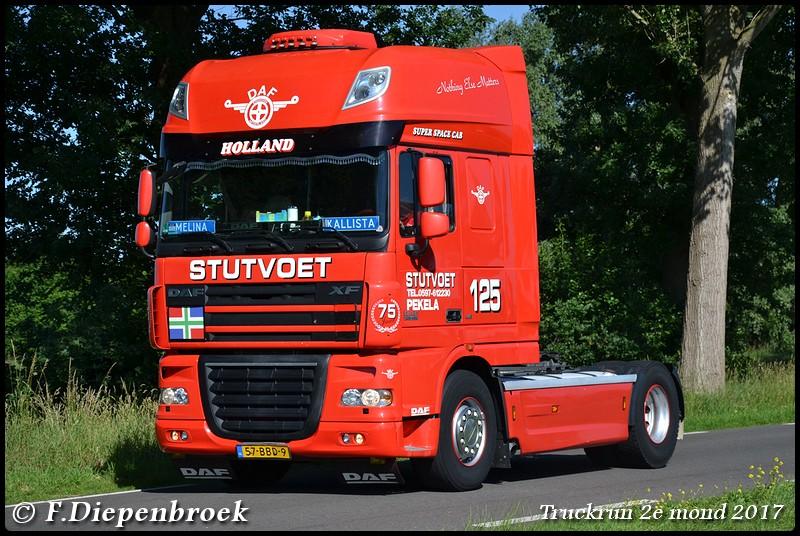 57-BDD-9 DAF 105 Stutvoet-BorderMaker - Truckrun 2e mond 2017