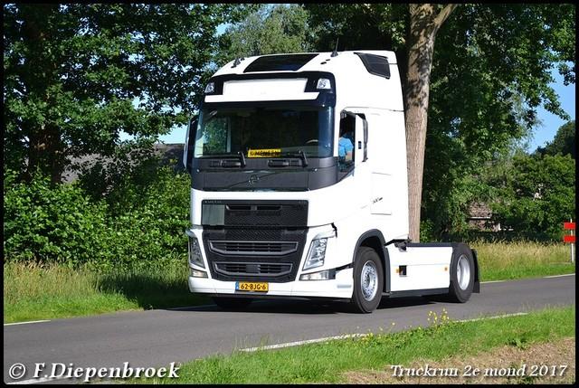 62-BJG-6 Volvo FH4 K Mensen-BorderMaker Truckrun 2e mond 2017