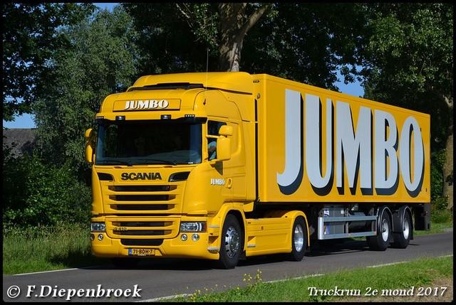71-BDH-7 Scania R410 Jumbo2-BorderMaker Truckrun 2e mond 2017