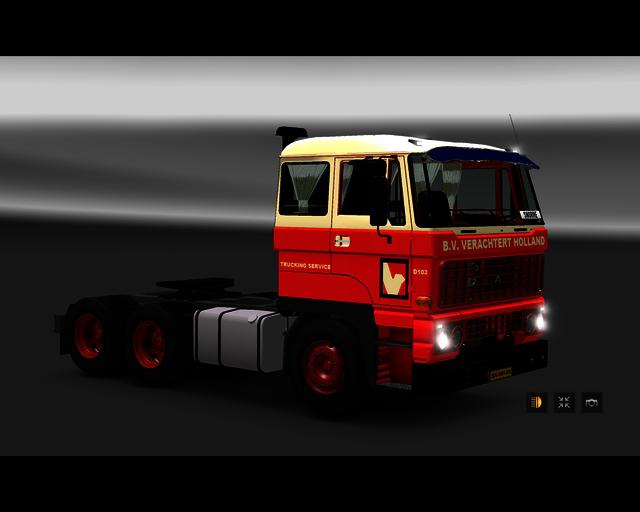 ets2 Daf 2800 6x4 Verachtert Tanktransport Zwijndr prive skin ets2