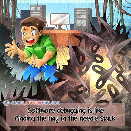 Needle Stack - Web Joke Tech Jokes
