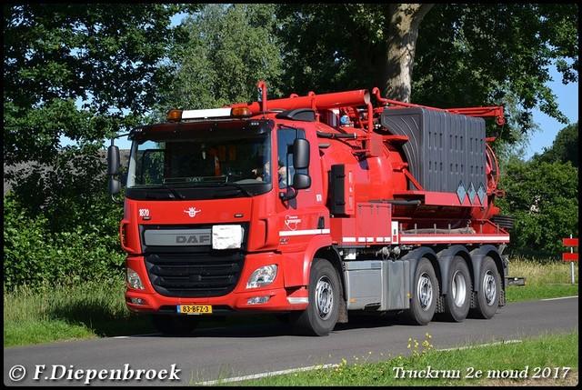 83-BFZ-3 DAF CF Gemeente Groningen-BorderMaker Truckrun 2e mond 2017