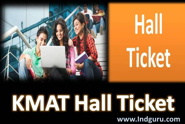 KMAT Hall Ticket Admit card