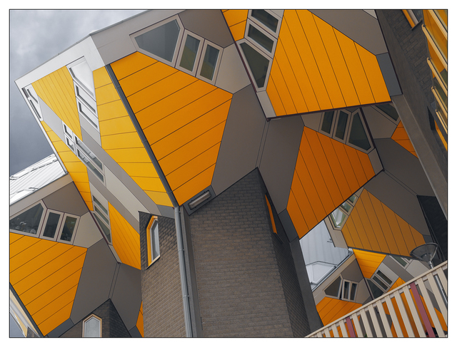 Rotterdam Cube Houses Netherlands