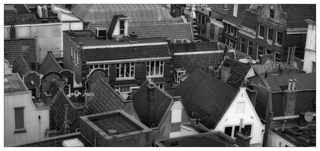 Amsterdam roof tops Benelux Panoramas
