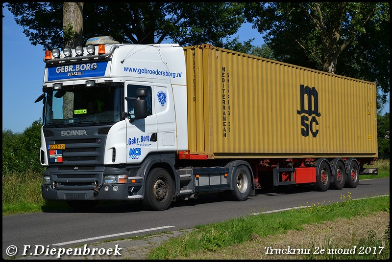 BS-LZ-90 Scania R420 Borg-BorderMaker - Truckrun 2e mond 2017