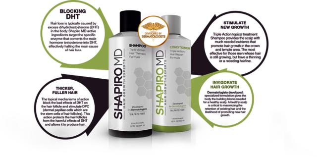 Shapiro Md Hair shampoo http://hikehealth.com/shapiro-md-hair-shampoo/
