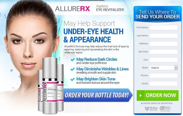 Allure-RX Just how Does Allure RX Eye Revitalizer Serum Job?