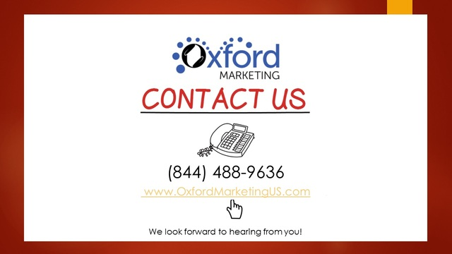 Oxford Marketing Oxford Marketing
