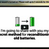 EZ Battery Reconditioning11 - http://www.wellness786