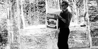 """Brillo Andy-Warhol ( Gold Thinker) Early 1960's Andy Warhol Painting--""""A Gold Marilyn 'Comparable' Masterpiece"""" """"EVIDENCE RESEARCH WEBSITE"""" Viewing Only"""