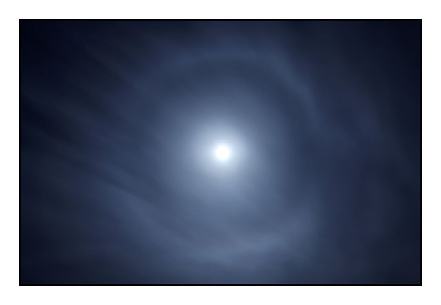 Lunar Halo Nature Images