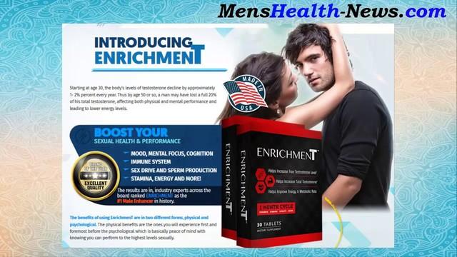 Enrichment Male Enhancement http://maleenhancementmart.com/enrichment-male-enhancement/