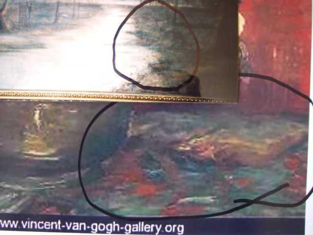 Orange Bolching Technique & Color Match Van Gogh