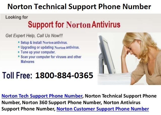Norton Technical Support Phone Number Norton Technical Support Phone Number 1800-884-0365