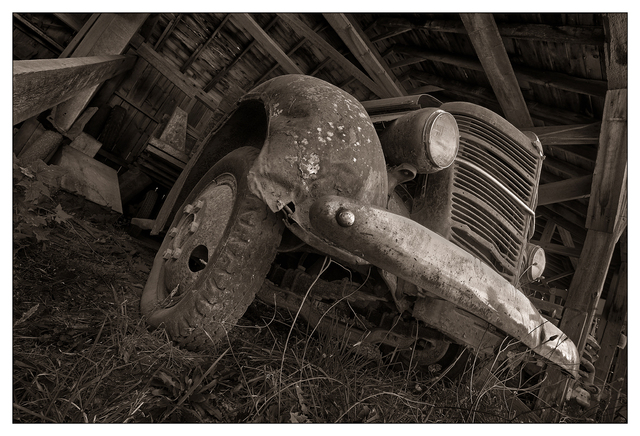 Mclean Mill 2017 5 Black & White and Sepia