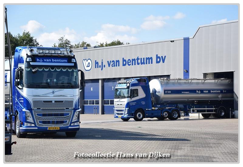 Line-up Bentum van H.J -