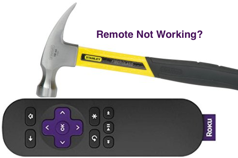 Roku-Remote-Control-Broken Solution for Roku Remote Not Working