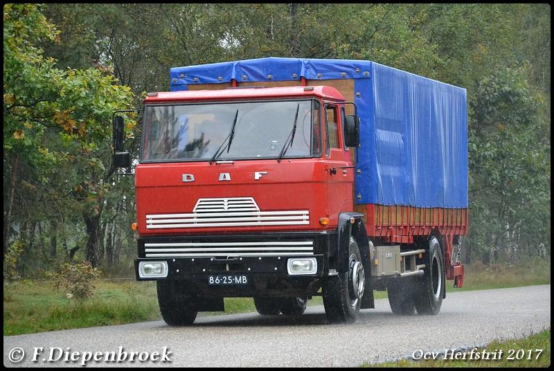 86-25-MB DAF FA2000DH450-BorderMaker - Ocv Herfstrit 2017