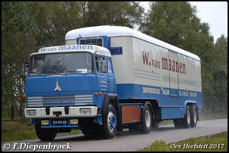 93-99-ZB Magirus Deutz MAGIRUS 270 D 19 FS Van Maa - Ocv Herfstrit 2017
