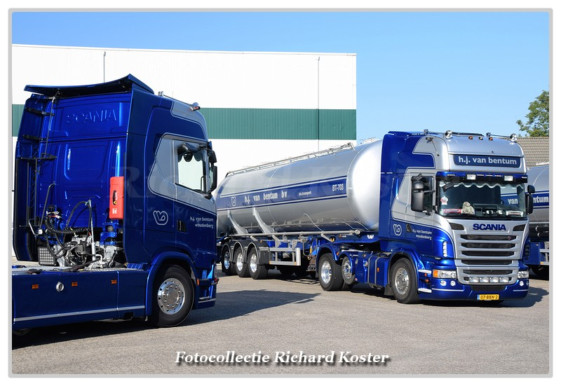 Bentum van  H.J. Scania's-BorderMaker - Richard