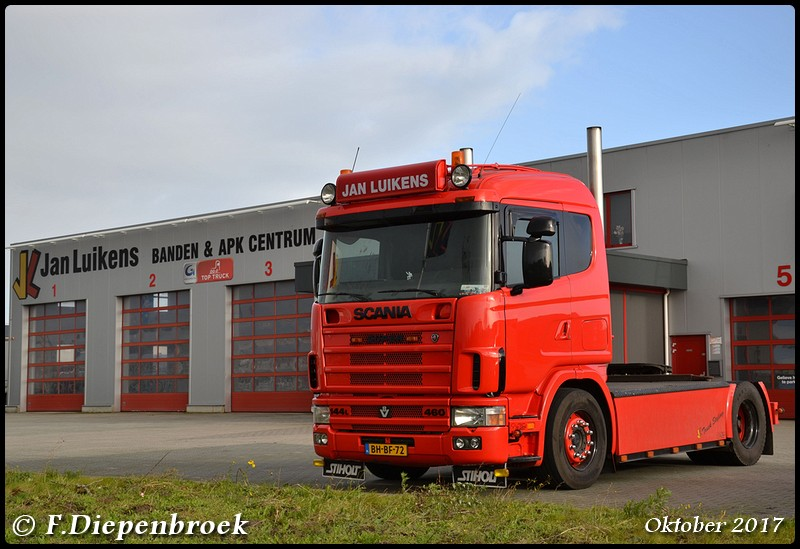 BH-BF-72 Scania 144L 460 Jan Luikens2-BorderMaker - 2017